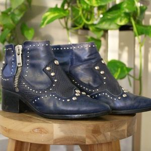 Nasty Gal Studded Boots